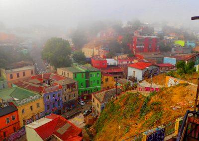 Valparaiso, kolorowe miasto w Chile