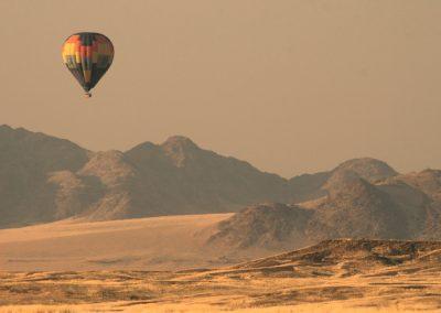 Lot balonem Afryka, baloon safari
