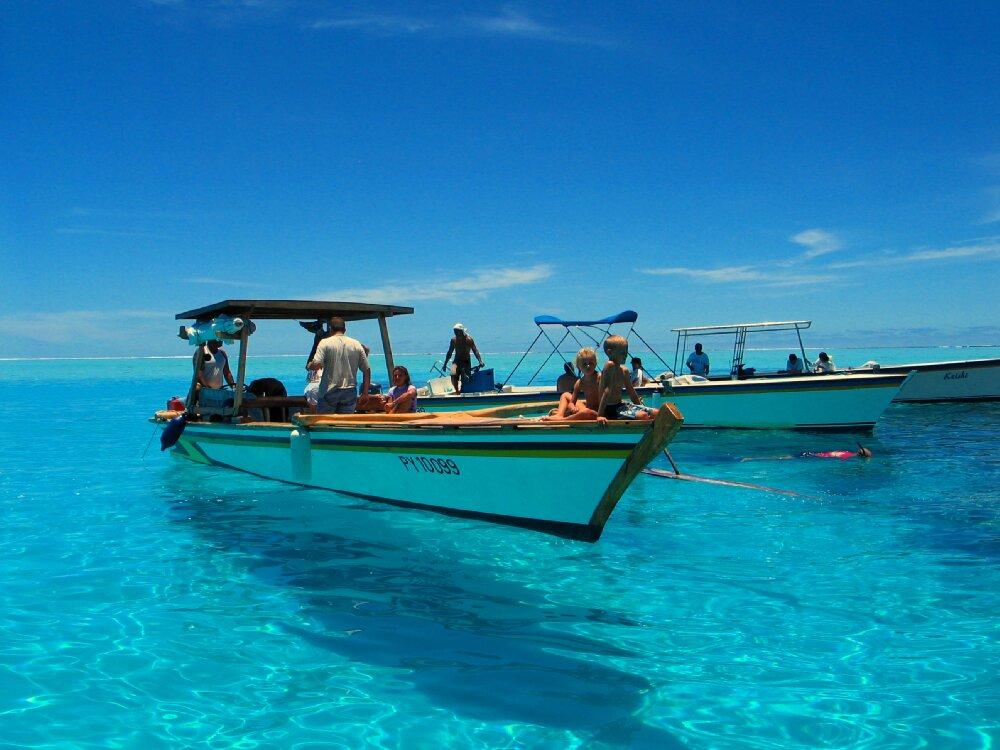 Rejs po atolu Bora Bora, najpiękniejszą wyspę świata
