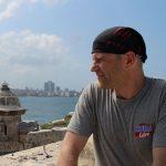 Tomasz Biernacki w Hawanie w czasie Kuba Libre Salsa Trip
