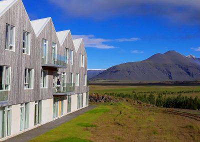 Sterylnie czyste hotele islandzkie, przepiękny krajobraz, objazd Islandii samochodem, Iceland
