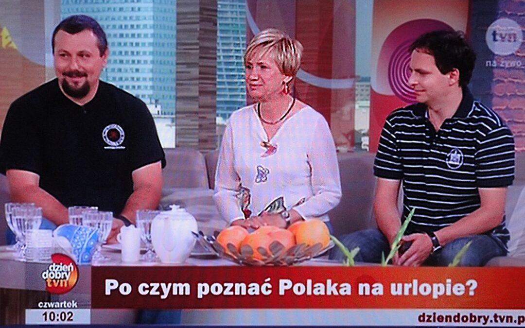 Polak na wakacjach w Dzień Dobry TVN